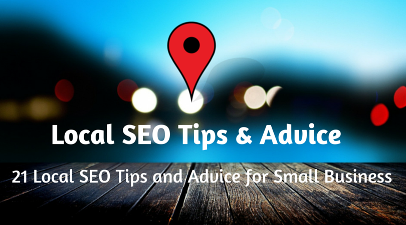 local seo tips and advice for small business