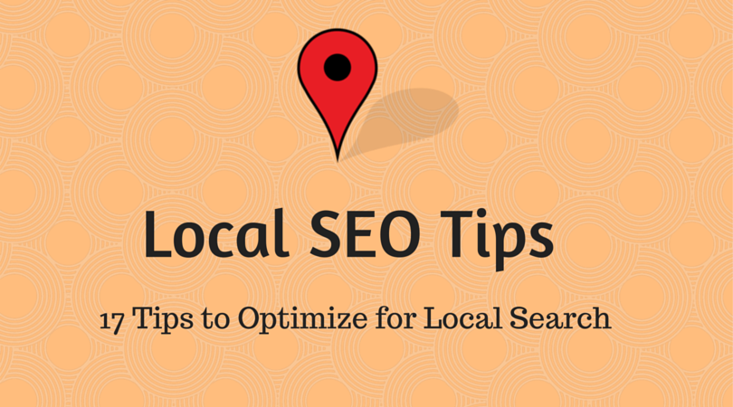 tips to optimize for local search