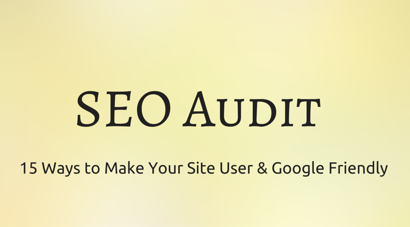 SEO audit tips for web site