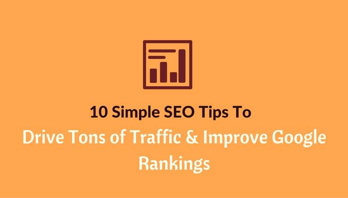 seo tips to improve seo rankings and increase traffic