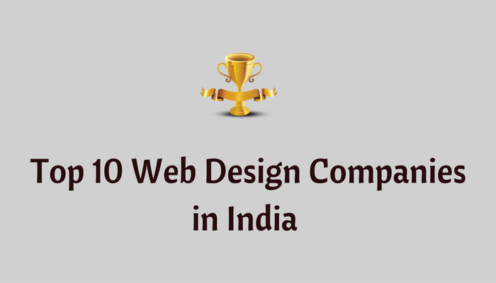 top web design companies in india rankings list