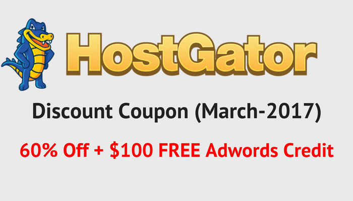 hostgator discount coupon code deal 2017