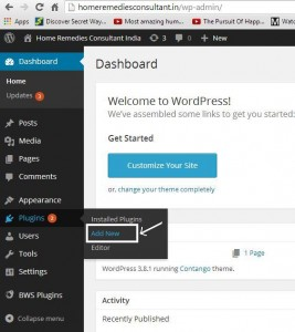 add-google-xml-sitemap-plugin-wordpress-step1