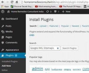 add-google-xml-sitemap-plugin-wordpress-step2