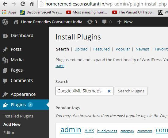how to add sitemap in wordpress site slimniyaseru