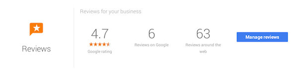 check business reviews