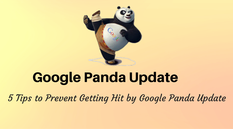 prevent site from Google Panda update