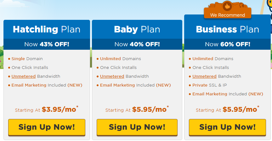 HostGator Regular (Shared) Web Hosting Coupons