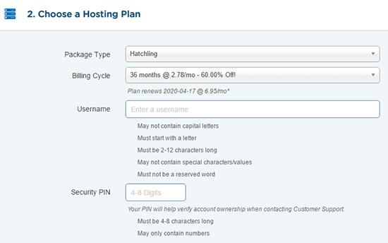 choose hostgator hosting plan for maximum discount