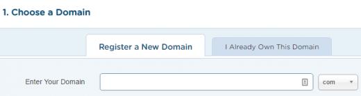 Hostgator maximum discount choose domain