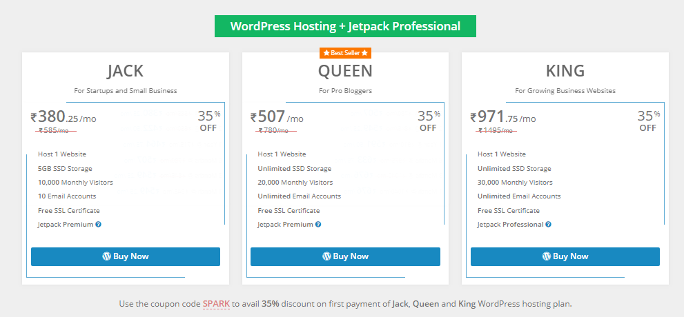 wordpress hosting 2