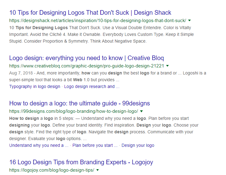 logo designing tips