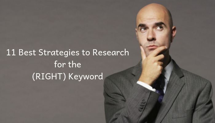best keywords research strategies