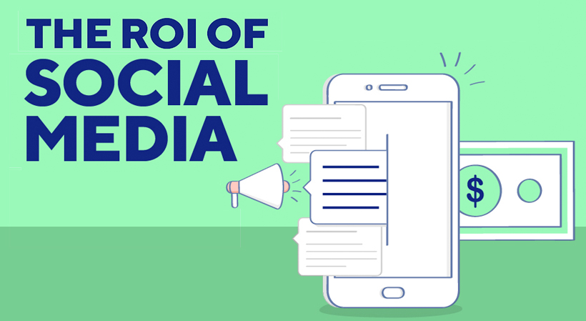 social media roi feature